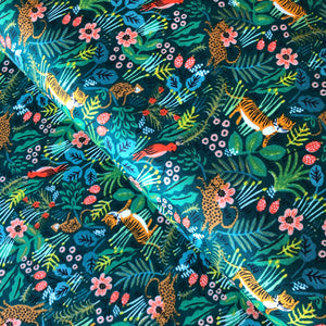 Rifle Paper Co - Jungle Hunter Cotton from Menagerie