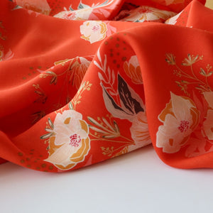 Art Gallery Fabrics - Candied Roses in Rayon / Viscose