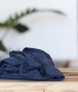 Meet MILK - Fine Rib Jersey in Blueberry with TENCEL™ fibres