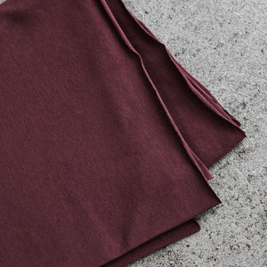 REMNANT 1.52 metres Grape Organic Single Stretch Jersey