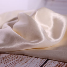 Elegance Ivory Viscose Satin Fabric