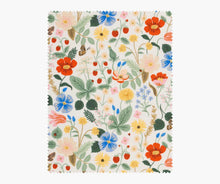 Rifle Paper Co - Strawberry Fields Ivory Cotton from Strawberry Fields