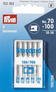 Prym Sewing Machine Needles  - Universal 70-100  10-16