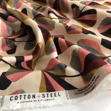 Cotton and Steel - In Bloom Pink Rayon Fabric