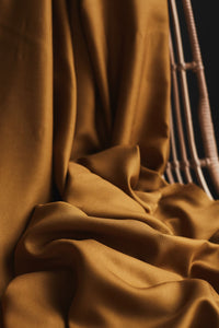 Mind The MAKER - Un-Square Gold ECOVERO™ Viscose Twill Fabric
