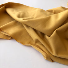 Essential Chic Amber Plain Cotton Jersey Fabric
