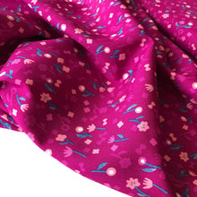 Cotton and Steel - Neko and Tori Flower Picking Orchid Rayon Fabric