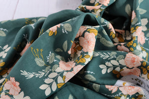 Art Gallery Fabrics - Georgette's Secret Garden in Rayon from Her & History