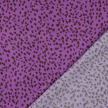 Speckles Purple Viscose / Rayon Dress Fabric