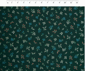 Rifle Paper Co - Petites Fleurs Hunter Cotton from Strawberry Fields