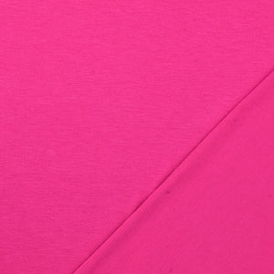 Inspire Magenta Solid Viscose Jersey Fabric