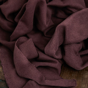 Mind The MAKER - Organic Cotton Cashmere Fleece Sweat Grape
