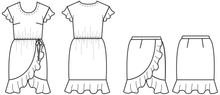 Papercut Patterns - Adrift Dress / Skirt Sewing Pattern