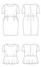 Cashmerette Rivermont Dress & Top Sewing Pattern