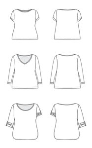 Cashmerette Concord T-Shirt Sewing Pattern