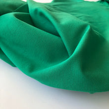 Essential Chic Emerald Green Plain Cotton Jersey Fabric