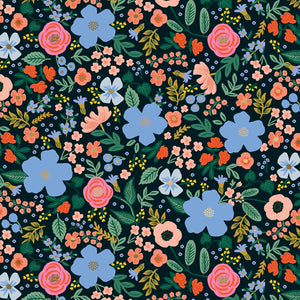 Rifle Paper Co - Wild Rose Black Rayon from Primavera