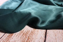 Elegance Pine Green Viscose Satin Fabric