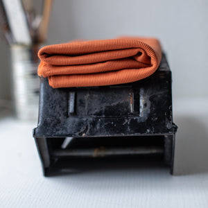 Mind The MAKER - Organic 2x1 Rib Knit Rust