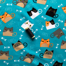 Danish Design - Happy Cats Cotton Jersey