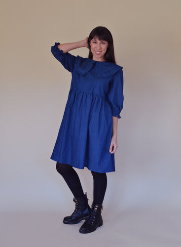 NINA LEE Bakerloo Blouse and Dress Sewing Pattern
