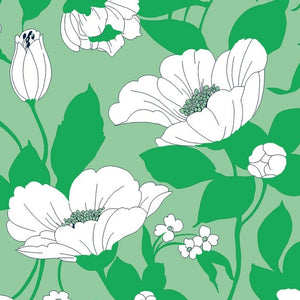 Beautiful Blooms Rayon / Viscose Dress Fabric
