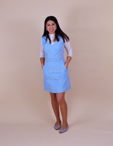 NINA LEE The Camden Pinafore and Skirt Sewing Pattern