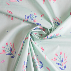 Lisa Comfort - Busy Blossom - Mint