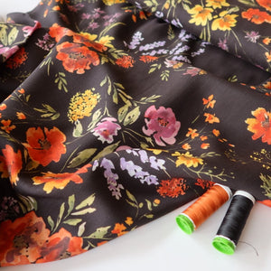 Bright Bouquet TENCEL™ Lyocell Dress Fabric