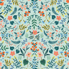 Rifle Paper Co - Wildwood Mint Metallic Cotton from Wildwood