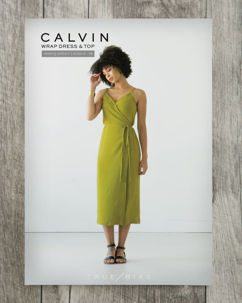 True / Bias  -  CALVIN Wrap Dress & Top Sewing Pattern