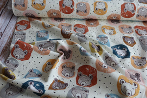 Danish Design - Polar Bears Organic Cotton Jersey Fabric