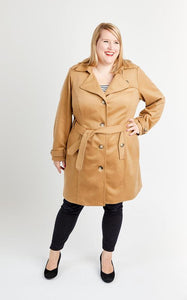 Cashmerette Chilton Trench Coat Sewing Pattern