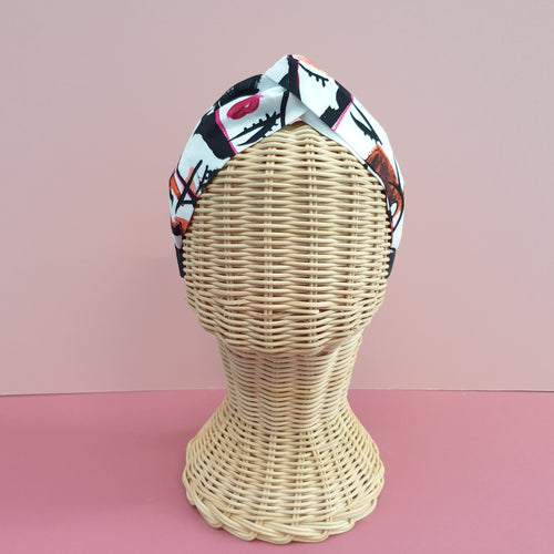 Adornments By Rosheen - Danish Design True Beauty Pink Rayon Twist Headband