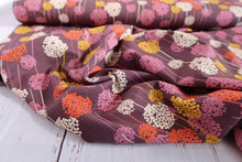 Danish Design - Art Flower Organic Cotton Jersey Fabric