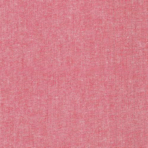 Cherry Crimson Cotton Yard Died Denim