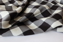 Art Gallery Fabrics - Plaid of my Dreams Snow in Rayon / Viscose