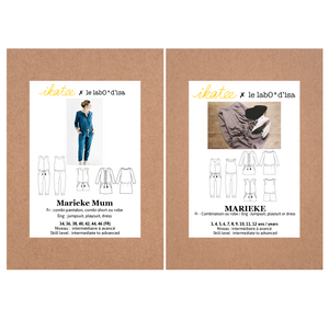 Ikatee - MARIEKE MUM Jumpsuit / Playsuit/ Dress Paper Sewing Pattern