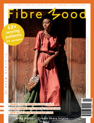 Fibre Mood Paper Magazine With Patterns - Edition 11 2020