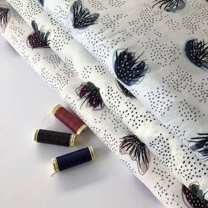 Cotton and Steel - Moonlit Wild Mulberry Rayon Fabric