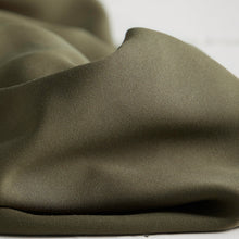 Meet MILK - Tencel Sanded Twill Khaki Dress Fabric