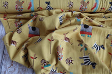 Danish Design - Safari Pals Organic Cotton Jersey Fabric