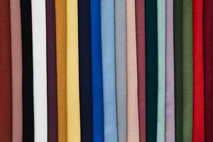 Rosewood Organic Single Stretch Jersey