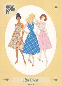 Sew Over It - Elsie Dress Sewing Pattern