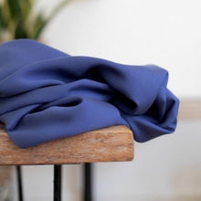 Meet MILK - Smooth Drape Twill in Lapis with TENCEL™ Lyocell fibers