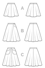 Closet Case - Fiore Skirt Sewing Pattern