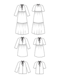FRIDAY Pattern Co the Wilder Gown Sewing Pattern