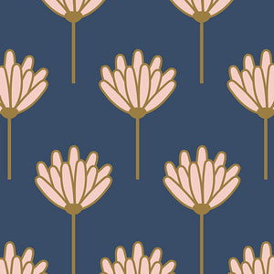 Art Gallery Fabrics - Dana Williams - Floret Sunkissed in Rayon - Blush Fabric