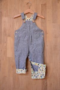 Two Stitches - Frankie Dungarees or Dress Sewing Pattern