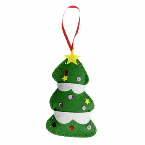 Make your own - Felt Tree Decoration